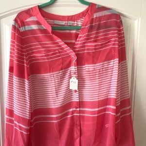 Long sleeved blouse by New York & Company
